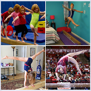 Portable Folding Gymnastics Balance Beam