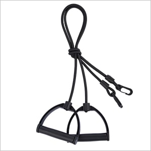 Weight Bench with Resistance Bands