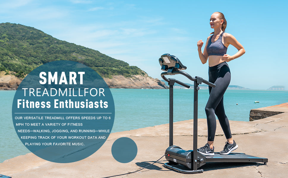 Smart Treadmill For Fitness Enthusiasts