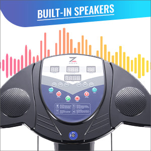 Vibration Plate Machine Built-in Speakers