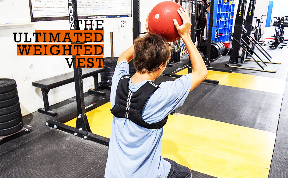 Weighted Running Vest & Weighted Training Vest