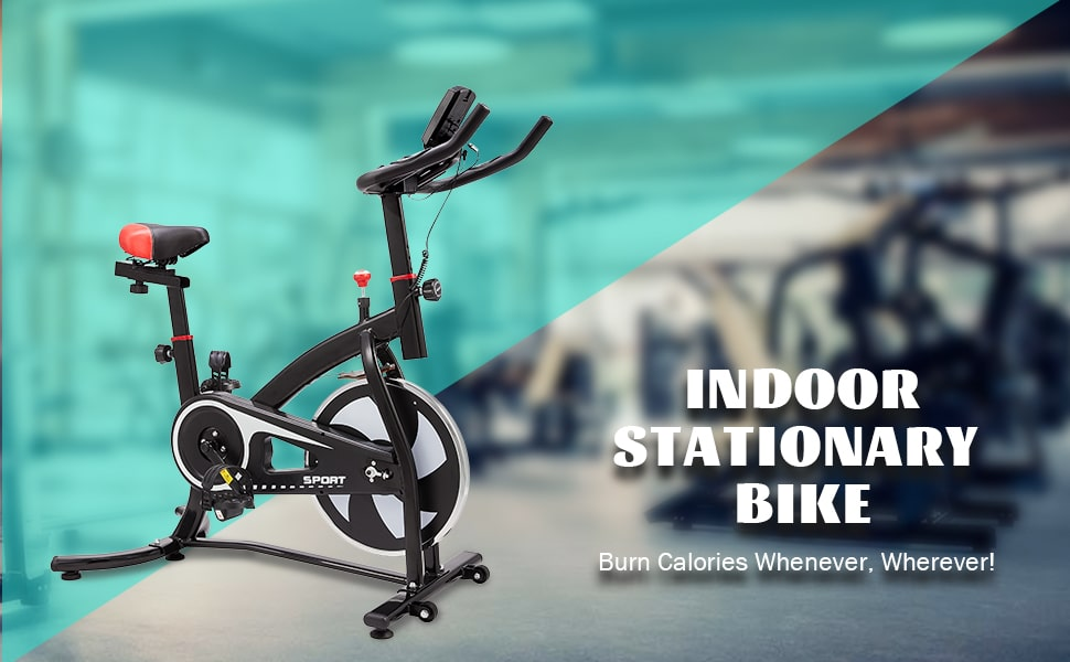 exercise equipment for home gym indoor stationary bike