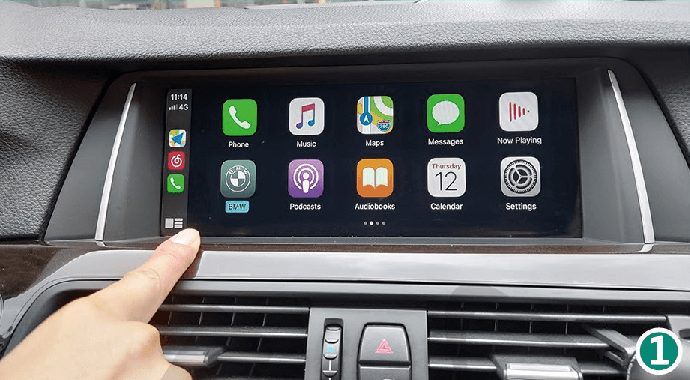1.1 Main Menu - Press Car Brand Icon CarPlay Smart Box System Functions Introduction & Tutorial