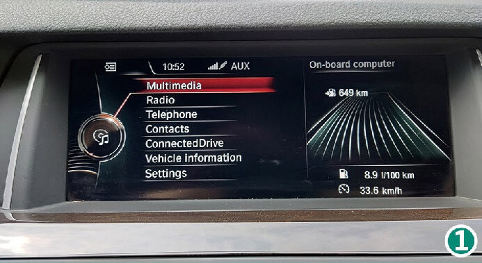 Get Multimedia at the factory main menu.  How To Connect Wireless CarPlay After Install CarPlay Smart Box?