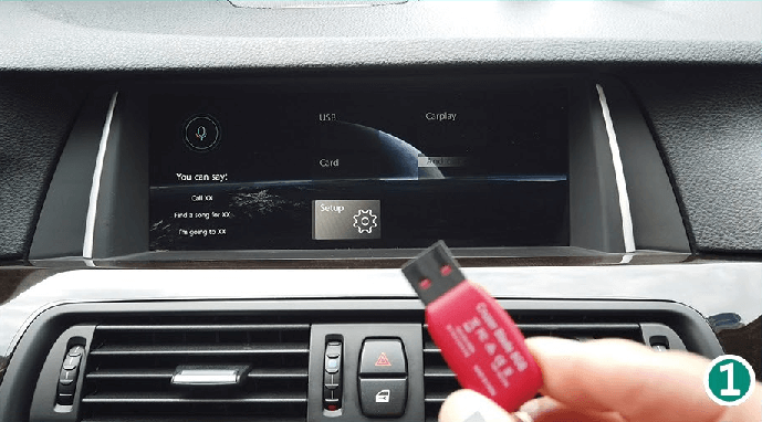 How to Watch Movie or listen music by USB Flash Player After install carplay smart box
