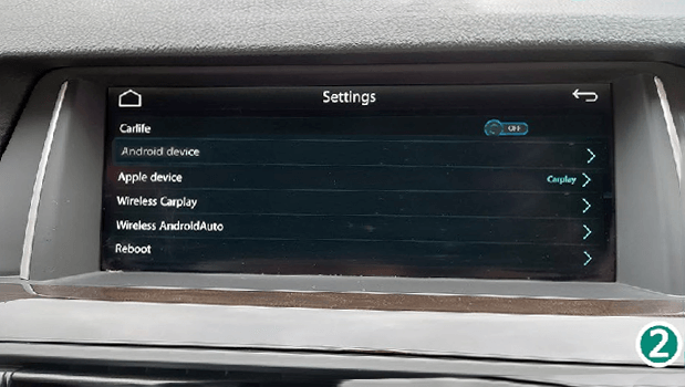 10.1 Smart Phone - For Functions Option And System Reboot. CarPlay Smart Box System Functions Introduction & Tutorial
