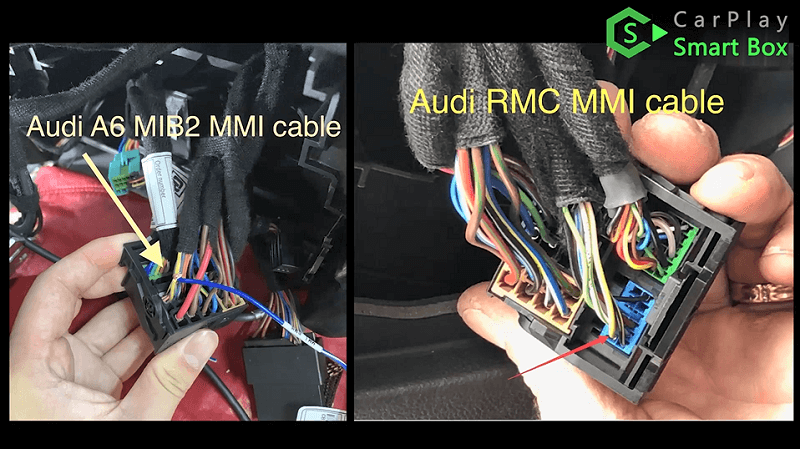 12.Audi A6 MIB2 MMI cable or Audi RMC MMI cable.