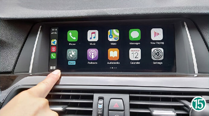 iPhone will get USE CarPlay request, then will enter CarPlay automatically. How To Connect Wireless CarPlay After Install CarPlay Smart Box?