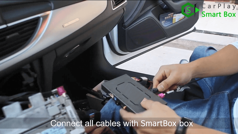 17.Connect all cables with Smart Box box.