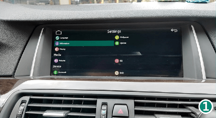 3.1 Information - CarPlay Smart Box System Version. CarPlay Smart Box System Functions Introduction & Tutorial