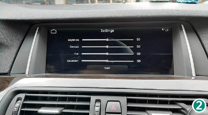 4.1 Display - Setting For Screen Brightness CarPlay Smart Box System Functions Introduction & Tutorial