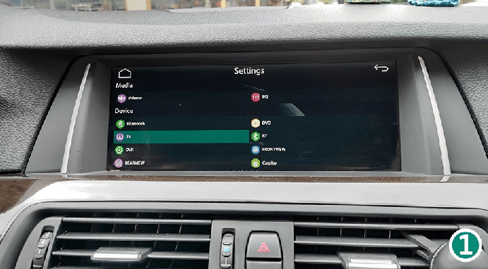 7.1 TV - For Future Extension. Turn It OFF CarPlay Smart Box System Functions Introduction & Tutorial