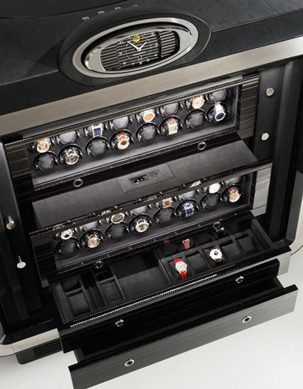 safe with watch winder