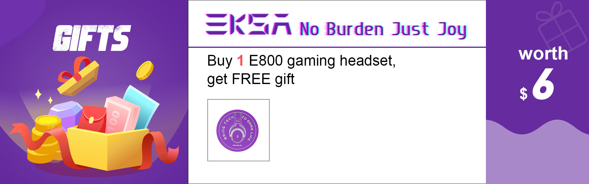 EKSA Free Gifts for Gamers
