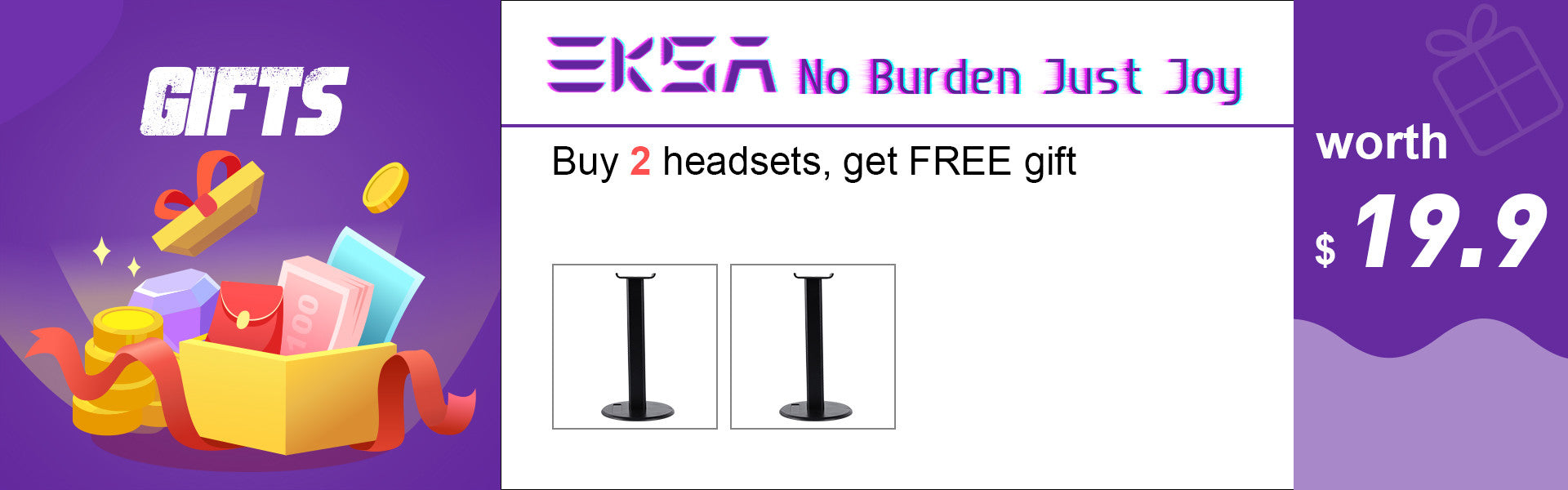 EKSA Free Gifts for Gamer