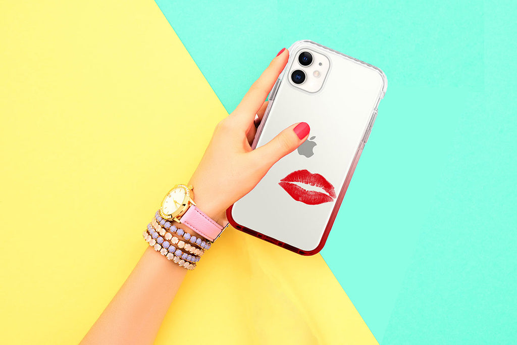 give me a kiss chic fun iphone 11 pro case - himoda