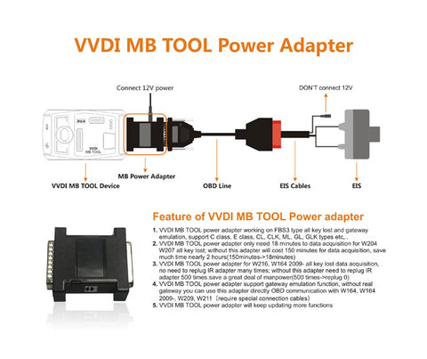mb power adapter