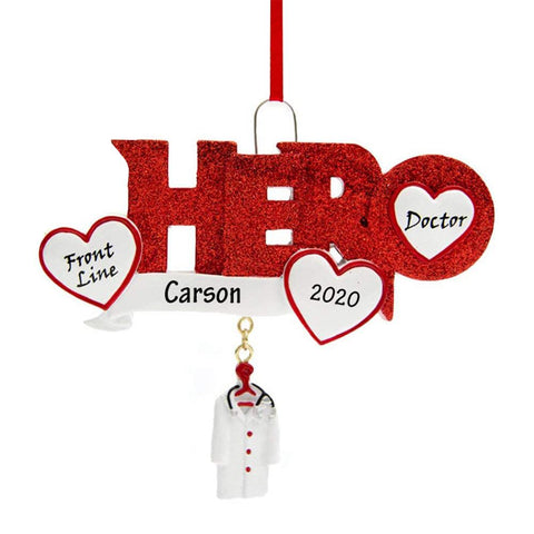 DIY Name Lucky Pendant Personalized Christmas Tree Ornaments