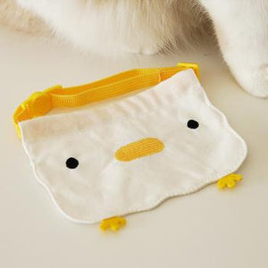 chicken cat bib