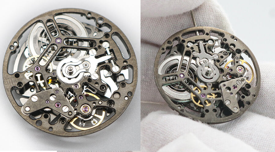 Boderry automatic watches movement