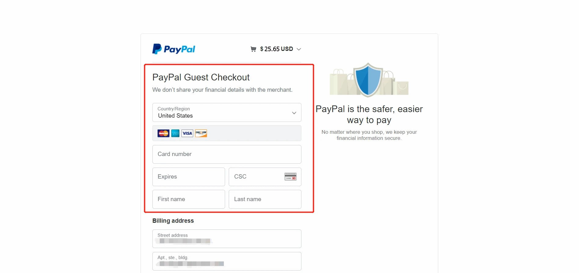 CREDIT CARD PAYMENT NOTES