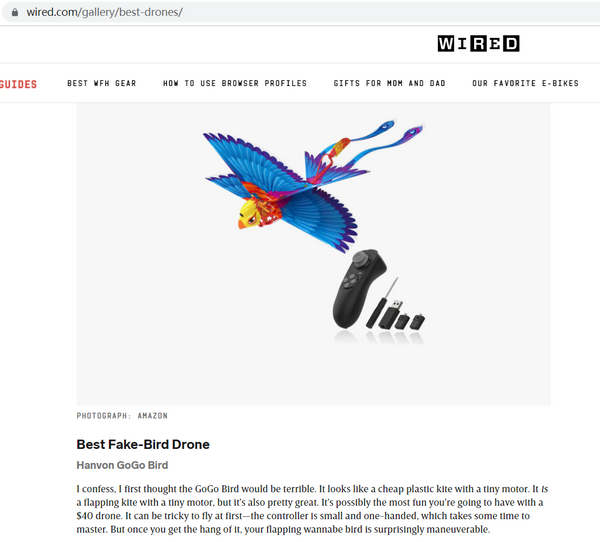 gogobird wired review