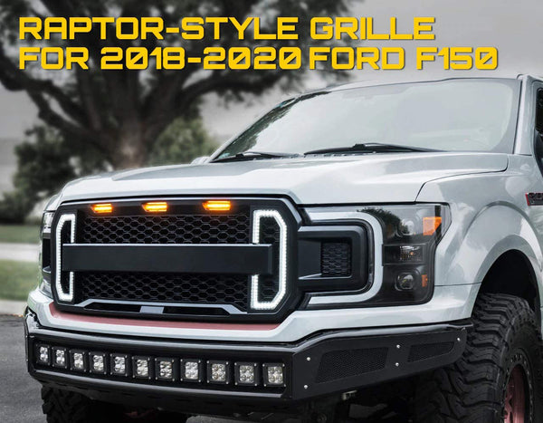 2018 f150 grill replacement grill
