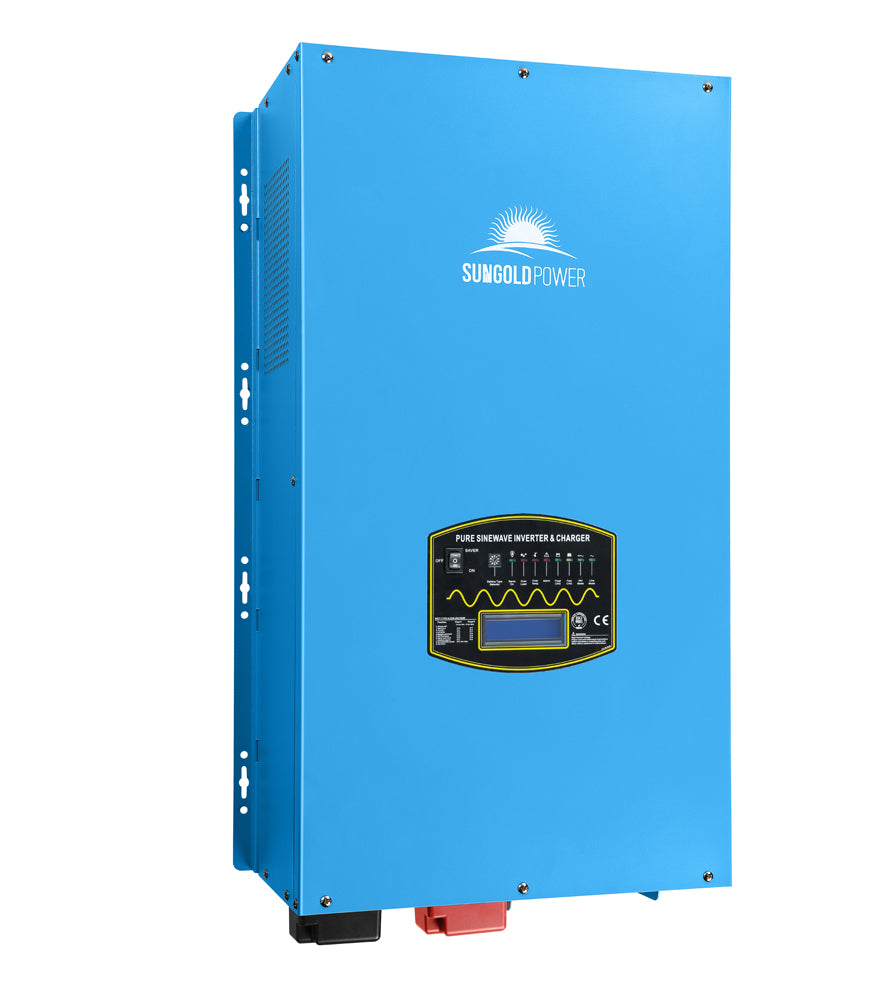 12KW Split Phase Pure Sine Wave Power Inverter