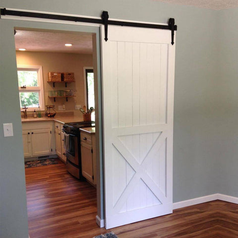 6ft barn door hardware