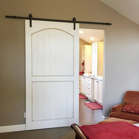 8FT J-Strap Barn Door Hardware