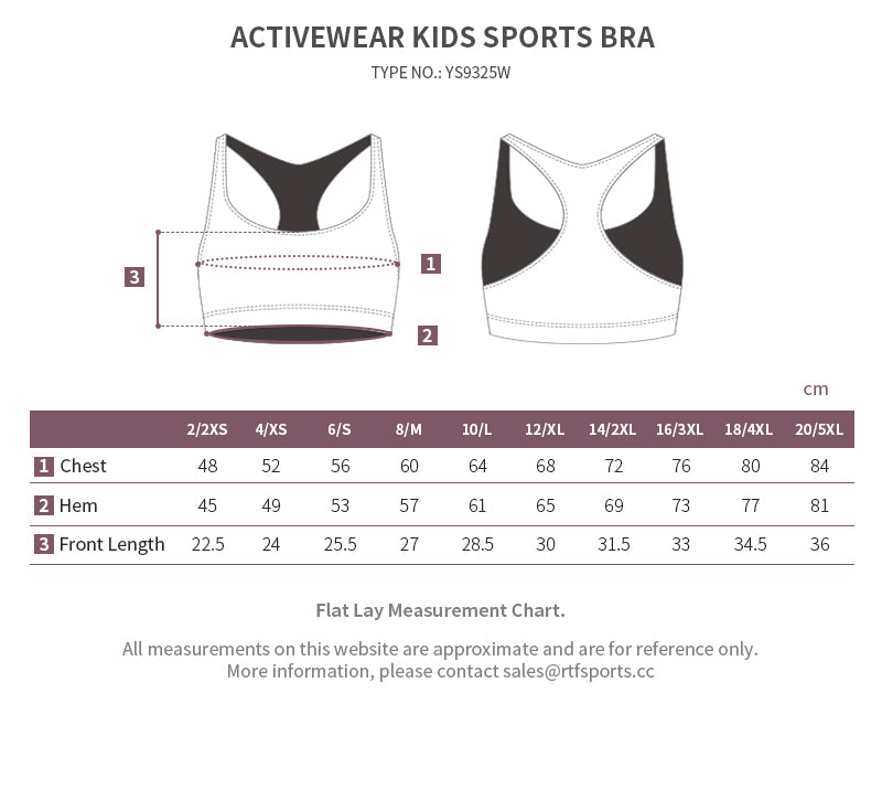 child bra top