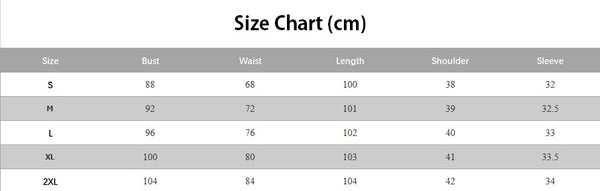 size Chart GDCG1049 Half Sleeve Deep V-neck Plaid 1950 Retro Style Swing Midi Vintage Dresses | Gardenwed