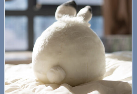 Chubby Soft Arctic Rabbit Plush Pillow Animal Stuffed Toys