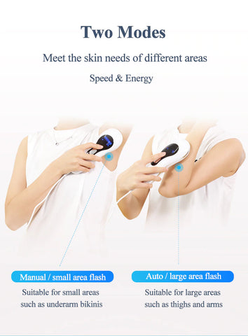 At-Home IPL Laser Hair Removal Device for Women