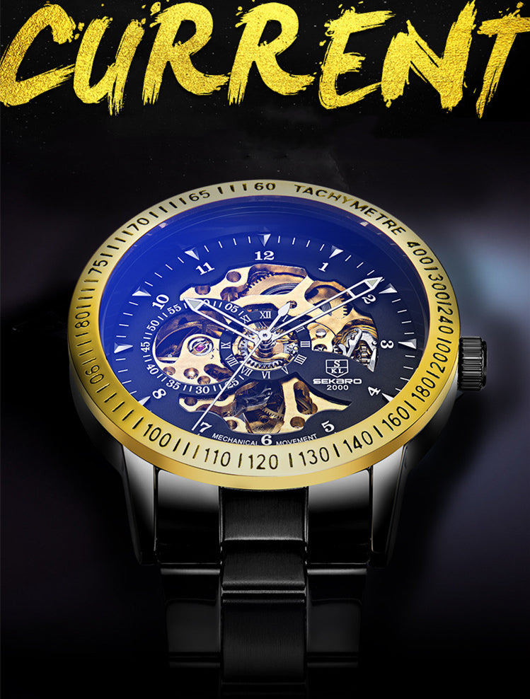 Mechanical Skeleton Men's Casual Watches