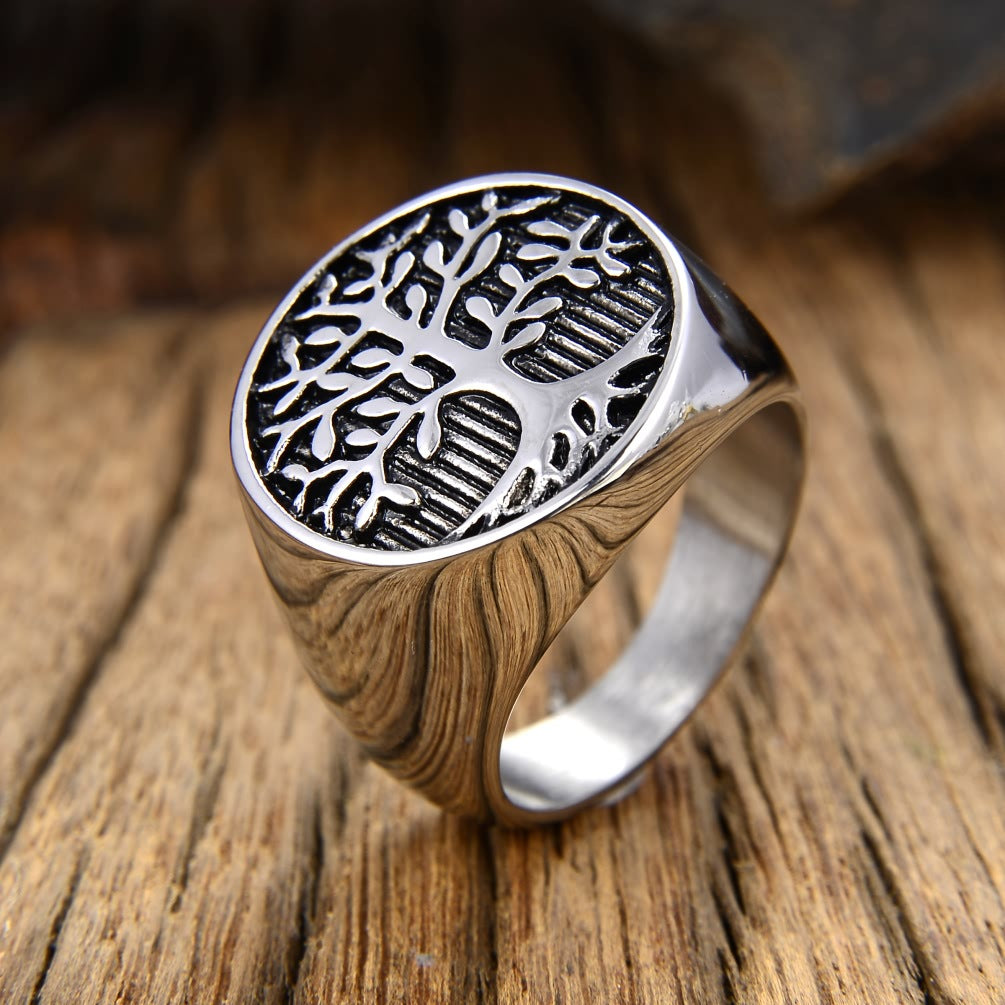 Tree of Life Ring Silver