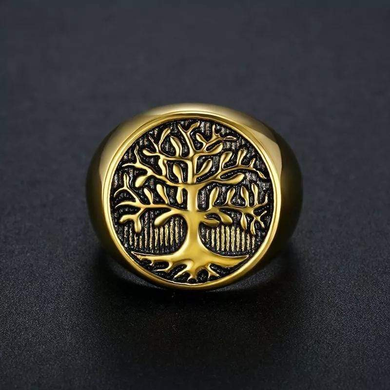 Tree Of Life Ring Gold