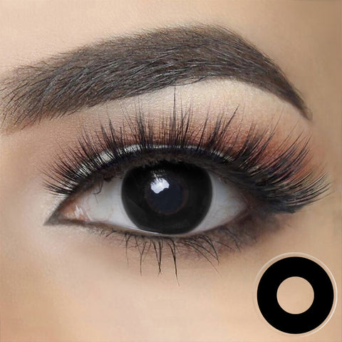 Blackout Cosplay Contact Lenses