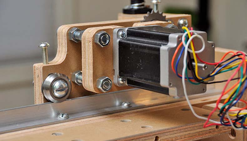 "France review in stepper motor""Works well and it is noticeably quieter"""