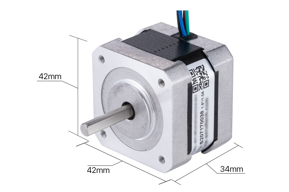 cnc machine stepper motor Micro stepper motor nema 17 for 3D Printer