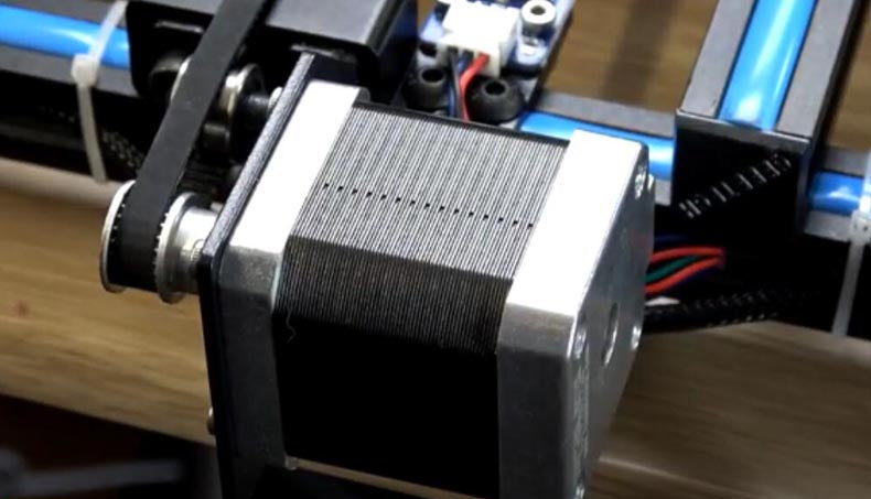 """Just what I expected"" England 3D printer stepper motor user review"