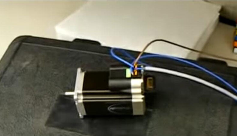 "said luxembourg ""nema 23 stepper motor 57mm,GREAT COMPANY AND PRODUCT!"""