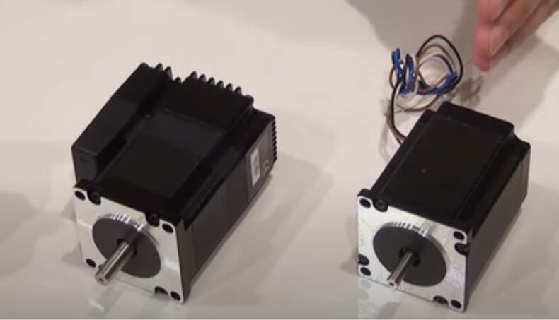 "comment from Belgium ""nema 23 stepper motor Works great for bowden extruder"""
