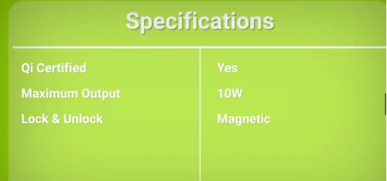 Magicmount charge3 specifications