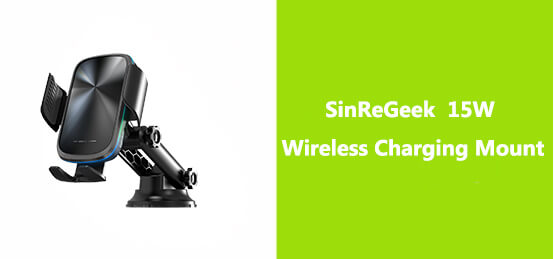 sinregeek 15w wireless charging mount