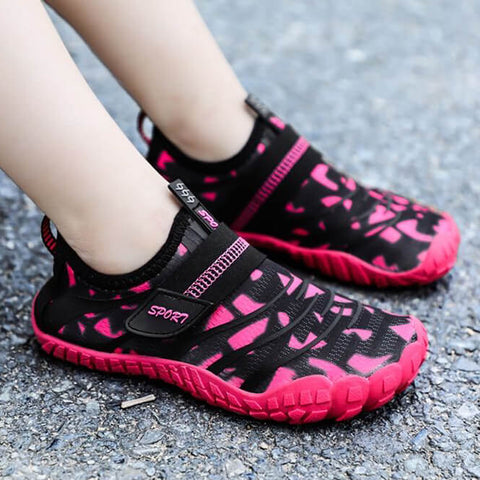 Anti Collision Quick Dry Five Fingers Beach Aqua Water Shoes For Kids