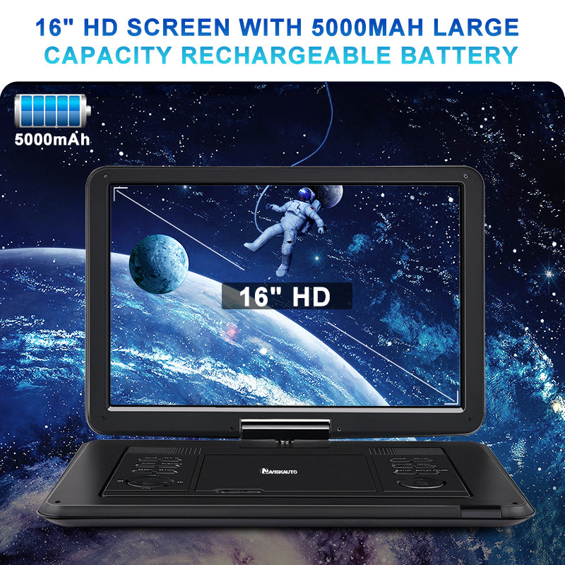 "16""Portable DVD Player Monitor"