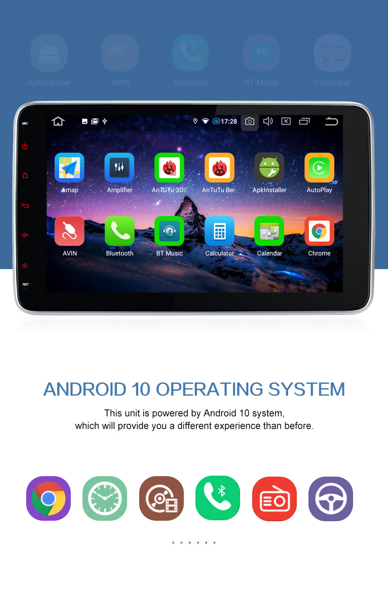 double din android 10