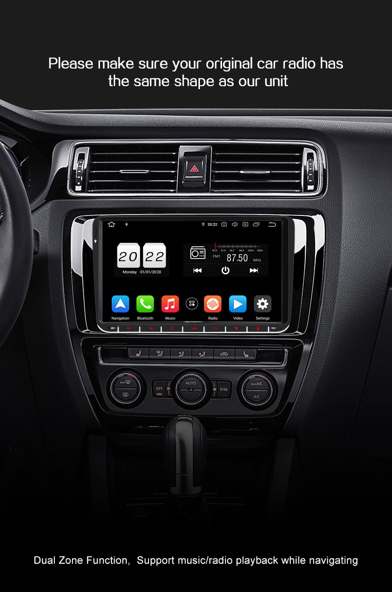 Pumpkin px6 Android 10 vw polo stereo upgrade