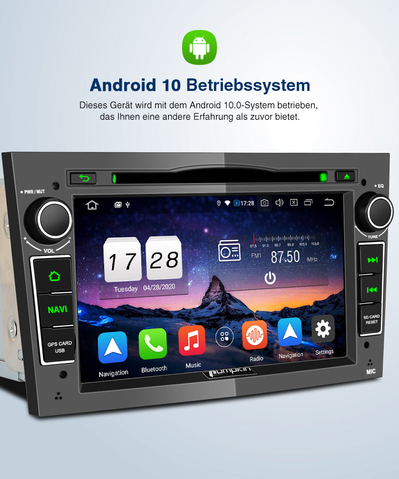 android 10 opel original radio